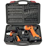 Trademark ToolsT 74 piece Combo Cordless Drill & Driver
