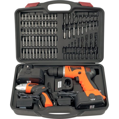 Stalwart 75-10601 Combo Cordless Drill and Driver, 74 Piece