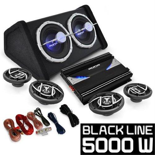 4.1 Auto Lautsprecherset Komplett Hifi Set