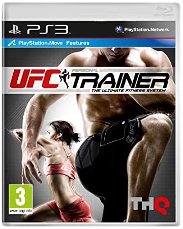 UFC Personal Trainer *** Leg Strap Included *** (Playstation 3) The Ultimate Fitness System