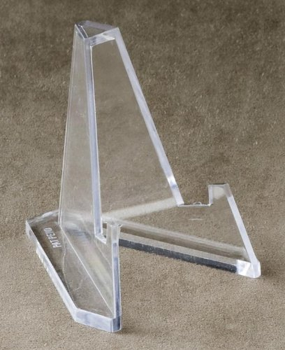 """Set of 12 Mini Acrylic Easel Stands, 2.25""""H"""