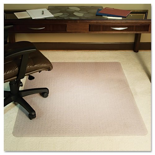 deals anchormat high pile carpet beveled edge chair mat size 46 x 60