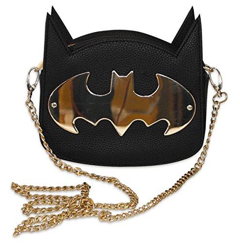 cartera-de-mano-para-mujer-batman-gotham-gold-logotipo