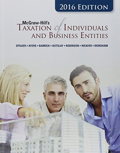 Download McGraw-Hill's Taxation of Individuals and Business Entities, 2016 Edition