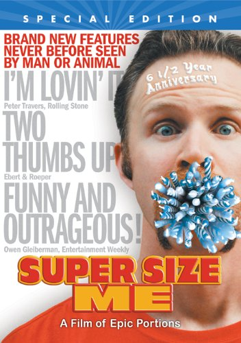 Super Size Me: 6 1/2 Year Anniversary Special Edition directed by and starring Morgan Spurlock, Mr. Media Interviews