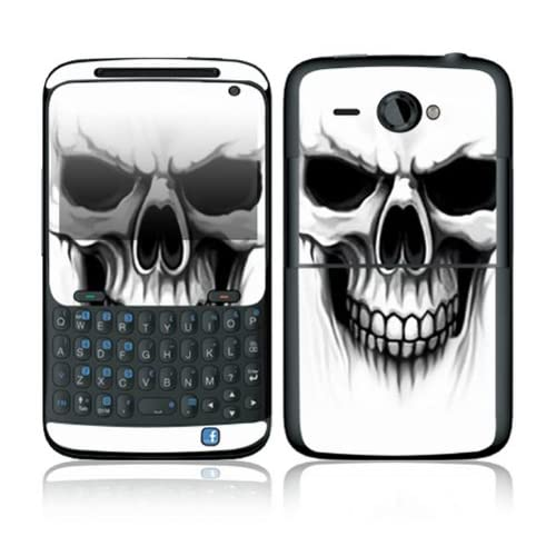 The Devil Skull Design Decorative Skin Cover Decal Sticker for HTC Status Cell Phone