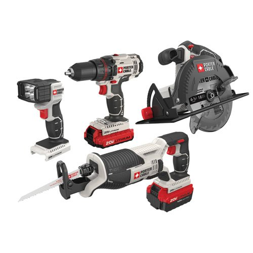 Review Of Porter-Cable PCCK614L4 20V Max Lithium Ion 4-Tool Combo Kit