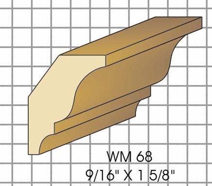Wm68 Crown Top Knife Fits Woodmaster/Belsaw/Powermatic/Jet