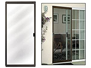 Columbia cm architectural bronze 48 x 80 sliding screen for 18 x 80 pantry door