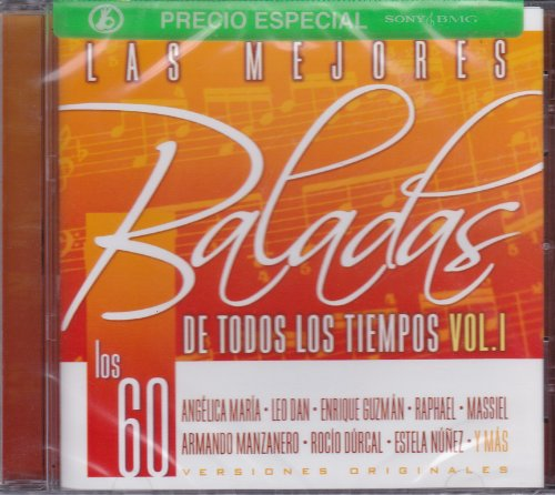 Los Cinco Latinos - Las mejores baladas de todos los tiempos Vol.1 (Los 60) - Zortam Music