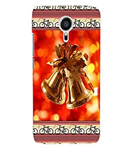 ColourCraft Christmas Bells Back Case Cover for MEIZU MX5