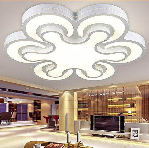BLYC- Modern minimalist bedroom lamp light Nordic creative ceiling lamp Lampada da soffitto a forma di fiore ferro LED , 6 head diameter 96w 82*82cm