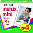 FUJIFILM Instax Mini Cheki Film 5pack(10picture X5) [Camera]