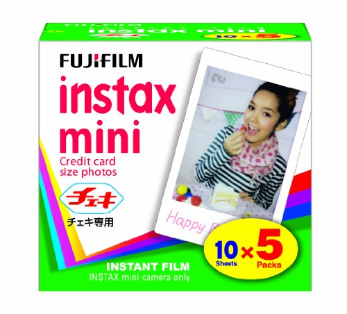 Buy Bargain FUJIFILM Instax Mini Cheki Film 5pack(10picture X5)