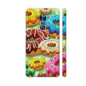 Colorpur Donuts Party Time Designer Mobile Phone Case Back Cover For LeEco Le 2 / Le 2 Pro | Artist: BluedarkArt