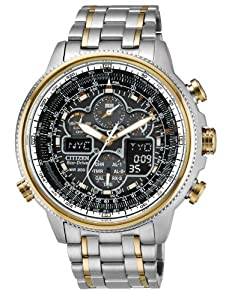 Citizen Men's JY8034-58E Navihawk A-T Eco-Drive Perpetual Chrono Watch