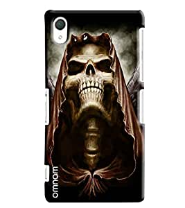 Omnam Two Superheros With Bow Printed Designer Back Cover Case For Sony Xperia Z2