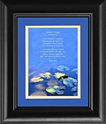 Framed Personalized Daughter Graduation Gift with \