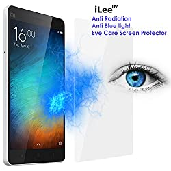 iLee Anti Radiation Eye Care Premium TEMPERED Glass Screen Protector For XIAOMI MI4i