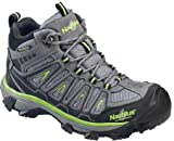 Nautilus 2202 Light Weight Mid Waterproof Safety Toe EH Hiking Shoe, Grey, 9.5 M US