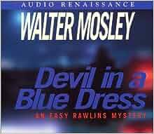 DEVIL BOOK IN BLUE A DRESS