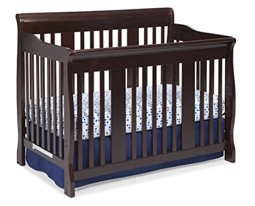 Stork Craft Tuscany 4-in-1 Convertible Crib, Espresso (Baby Furniture Expresso compare prices)