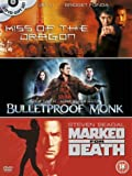 Kiss Of The Dragon/Bulletproof Monk/Marked For Death [DVD]