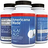 ★ Pure Alpha Lipoic Acid Supplement ★ Potent ALA ★ Natural Acetyl L Carnitine Arginate HCL Capsule ★ Best ALC ★ Pill Helps with Weight Loss & Skin Care ★ Doctor Recommended Mg Dosage ★ No Side Effects ★ USA Made, Fully Guaranteed By Americana Made