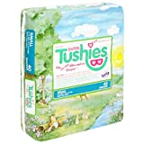 Tushies Diapers, Small (6-14 Pounds), 40 Count (Pack of 4)