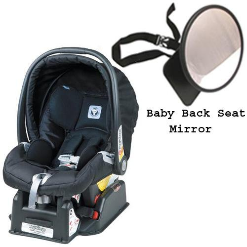 Peg Perego Primo Viaggio SIP 30 30 car seat Nero with EasyView Ultimate Back Seat Mirror