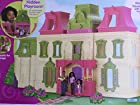 Fisher Price loving family Dollhouse Mega Set Furnished W/african American Dolls