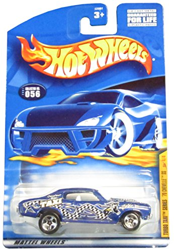 Hot Wheels 2001-056 Turbo Taxi Series '70 Chevelle Ss 4 /4 1:64 Scale - 1