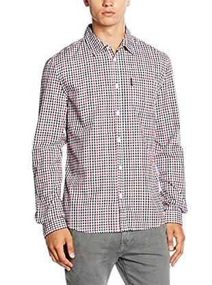 Guess Camisa Hombre (Rojo / Negro / Blanco)