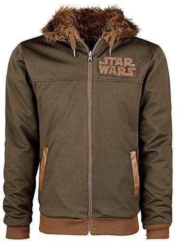 star-wars-chewbacca-reversible-hoodie-hooded-zip-multicolour-xxl