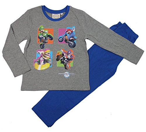 Super Mario Bros Ragazzi Pigiama - blu - 140