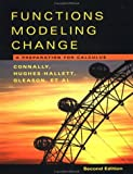 Functions Modeling Change :A Preparation For Calculus