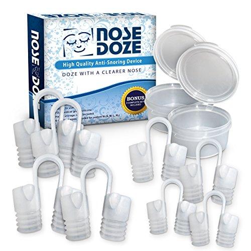 NoseDoze 2 jeux de 4 dilatateur nasal Premium nez