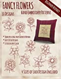 img - for Fancy Flowers Hand Embroidery Patterns book / textbook / text book