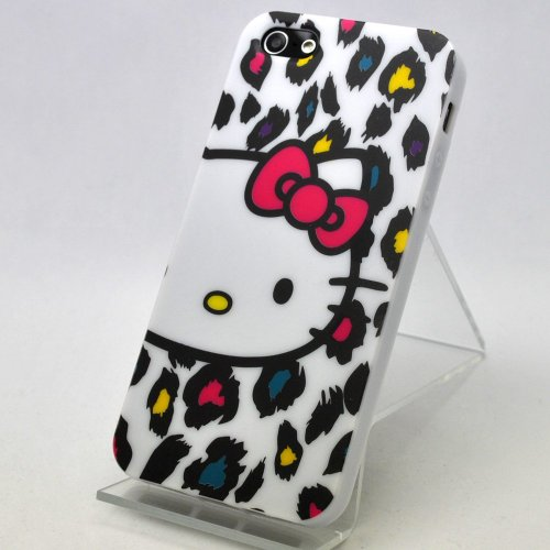 Hello Kitty Plastic Soft Case for iPhone 5 + Free Screen Protector