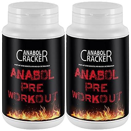 2X Anabol Pre-Workout Formular, 300g Dose, Beta Alanin, Arginin Alpha Ketoglutarat, Taurin Pulver