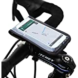 Satechi RideMate Bike Mount (Black) for iPhone 6, 5S, 5C, 5, 4S, BlackBerry Torch, HTC EVO, HTC Inspire 4G, HTC Sensation, Droid X, Droid Incredible, Droid 3, Samsung EPIC, Galaxy S4, S5, S6, S6 Edge