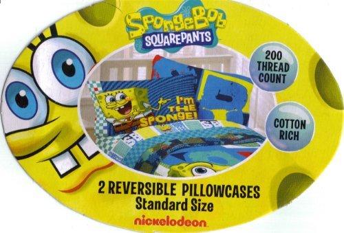 Spongebob Squarepants Street Bob Set Of 2 Reversible Pillowcases front-1026211