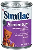 Similac Alimentum Advance Protein Hypoallergenic Formula with Iron, Ready to Feed, 8-Fluid Ounces (Pack of 24)