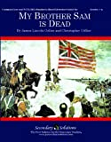 img - for My Brother Sam is Dead Literature Guide (Common Core and NCTE/IRA Standards-Aligned Teaching Guide) book / textbook / text book