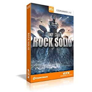 TOONTRACK ROCK SOLID EZX Computer music Drum Kits
