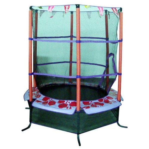 SixBros. Mini Garden Trampoline 4.6 FT 1.40 m - MT6628F
