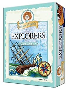 Educational Trivia Card Game - Professor Noggin's Explorers