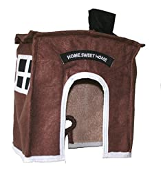 Avian Haven Hut for Birds, Extra Large, Brown
