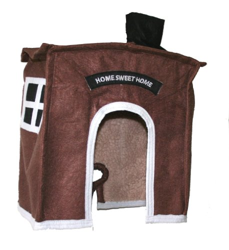 Avian Haven Hut for Birds, Extra Small, Brown
