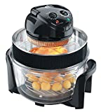 VisiCook Halogen Oven 2015 with Sleeved Extender Ring and Cool Surround Encasement Bowl, 12.0 Litre, 1400 W – Black